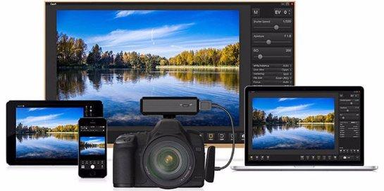 iPhone научили дистанционно управлять зеркальными фотокамерами