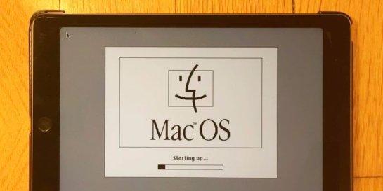 Умельцы запустили операционную систему 20-летней давности на iPad