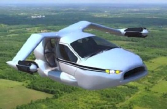 Через два года появятся первые летающие автомобили