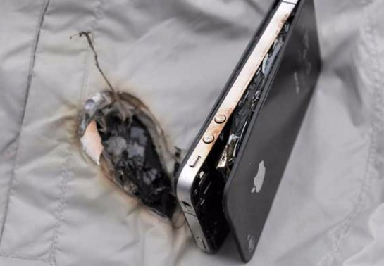 iPhone убил человека