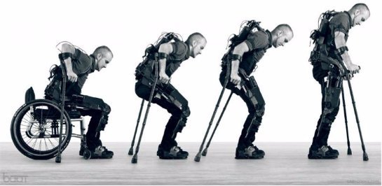 Уникальный экзоскелет научит людей ходить заново