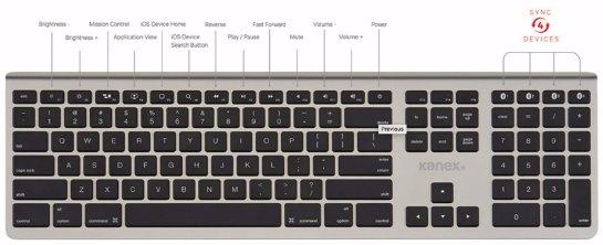 Презентована уникальная многофункциональная клавиатура от Kanex