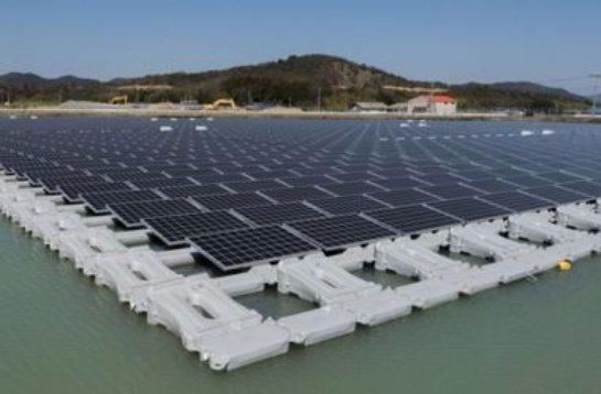 Японцы возвели самую большую в мире электростанцию на солнечных батареях