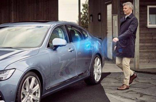 В будущем стандартные ключи от автомобилей будут заменены на смартфоны