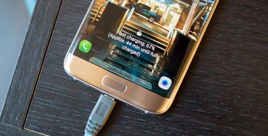 Флагманские смартфоны от Samsung оставили без быстрой зарядки