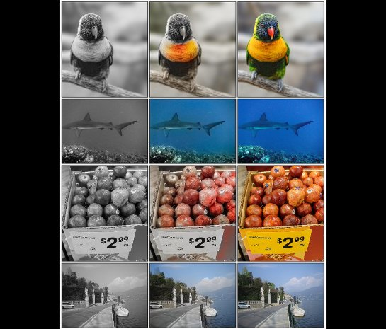 Специалисты создали программу, которая самостоятельно разукрашивает черно-белые фотографии