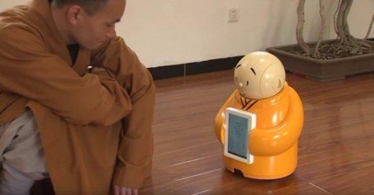 Буддистский монах сконструировал уникального робота, который будет популяризировать религию
