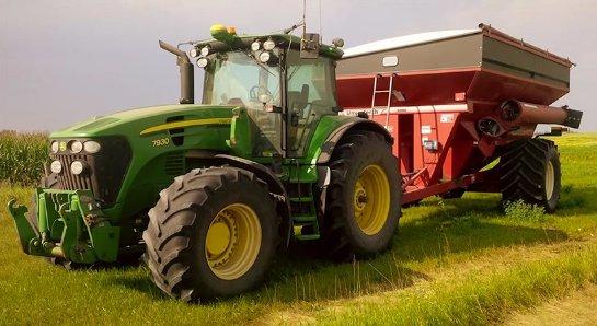 В Канаде обычный фермер собрал беспилотный трактор