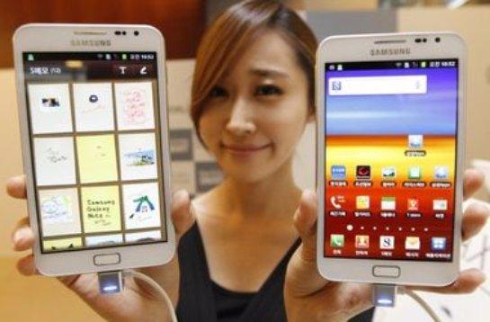 Южнокорейская компания презентовала смартфон, напоминающий по внешнему виду планшет