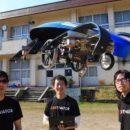 Японские ученые создают летающую машину