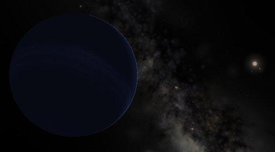 Ученые рассказали, какой цвет имеет загадочная планета X