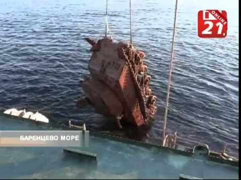 Моряки подняли со дна Баренцева моря танк «Шерман»