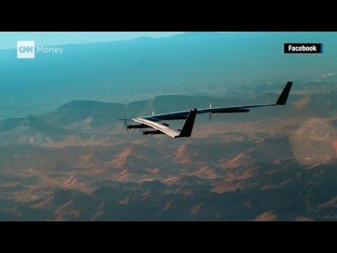 Беспилотник-ретранслятор интернета от Facebook совершил первый полет