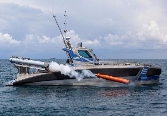 В Израиле прошли испытания роботизированного катера, который может вести бой с подлодками