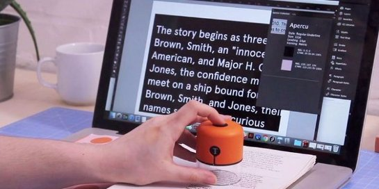 Американская компания показала гаджет для идентификации цвета и текста