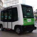 В Японии пассажиров будет возить бесплатный беспилотный автобус