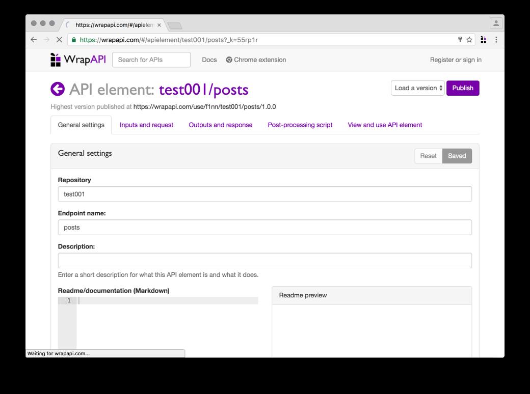 Обзор нашего будущего API