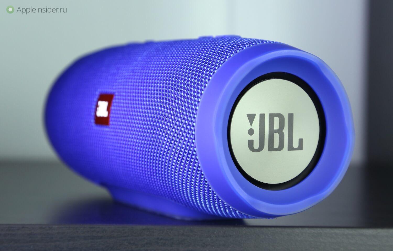 JBL Charge 3 — мощнее, крупнее, надежнее