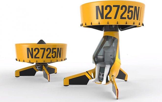 Airvinci – прототип персонального вертолета с туннельным пропеллером