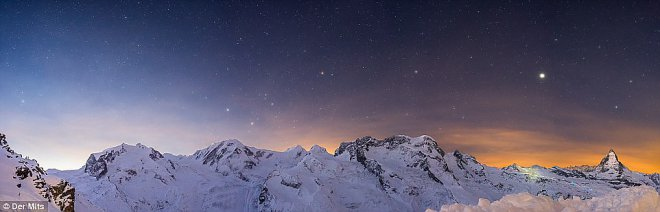 Альпы. Парад планет