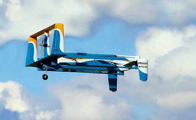 Amazon протестирует в Лондоне доставку посылок с помощью дронов