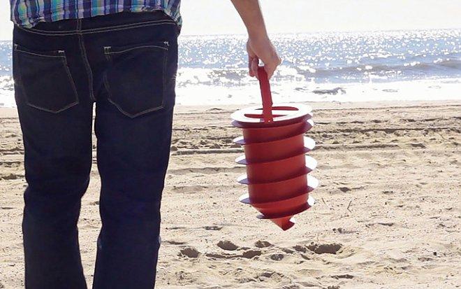 Пляжный сейф сделает отдых комфортнее и безопаснее