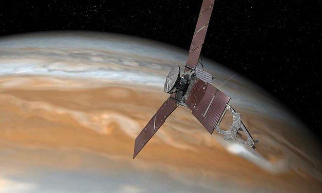Космический аппарат «Юнона» достиг орбиты Юпитера