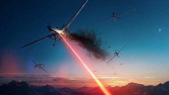 Lockheed Martin разрабатывает 60-киловаттный лазер для борьбы с беспилотникам