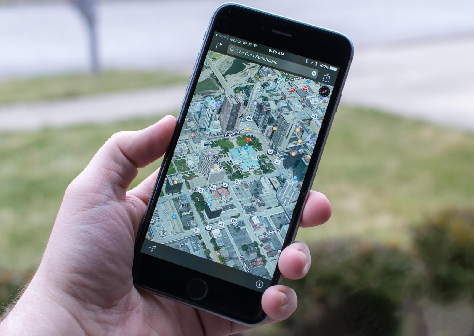В картах Apple стали доступны новые красочные локации