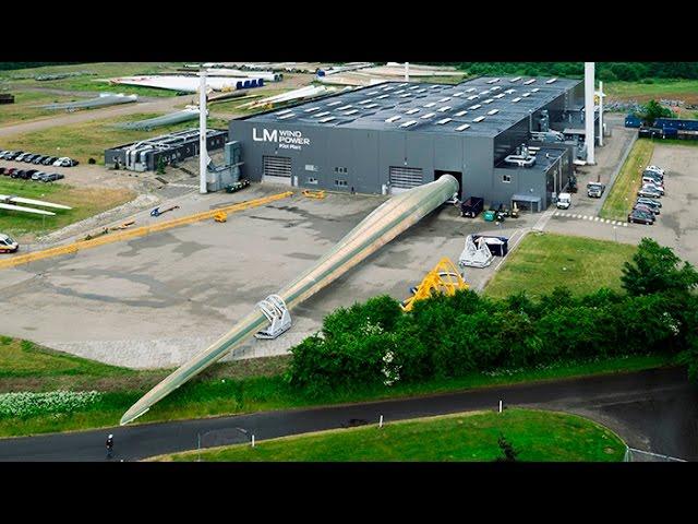 В Дании завершается создание самого большого в мире ветрогенератора