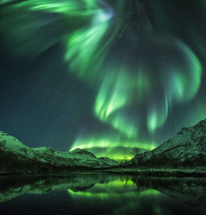 Северное сияние. Норвегия