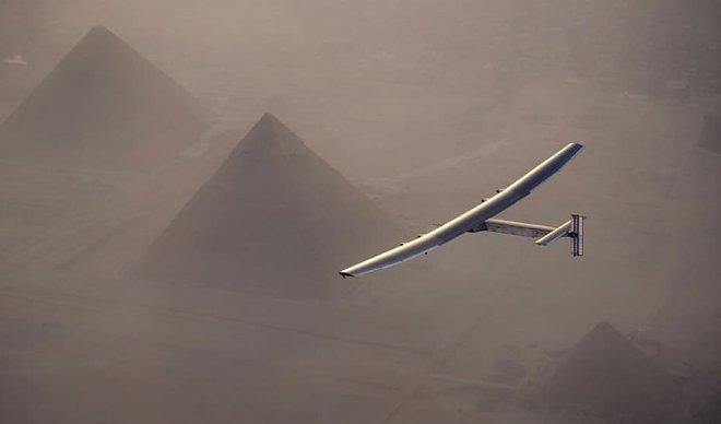 Solar Impulse 2 завершил предпоследний полет кругосветного путешествия
