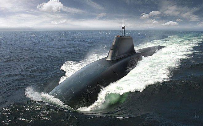Американцы намерены создать сверхзвуковую субмарину, используя эффект суперкавитации