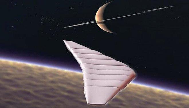 Космический аппарат в виде надувного глайдера займется исследованием атмосферы Титана