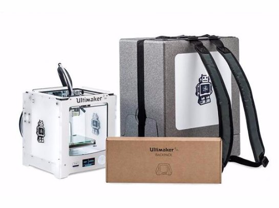 Показан первый портативный принтер – рюкзак