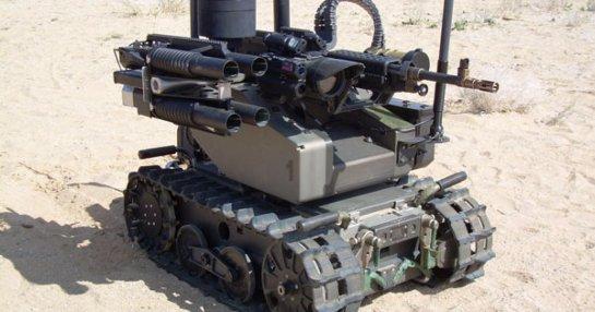 Американские военные испытали нового боевого робота