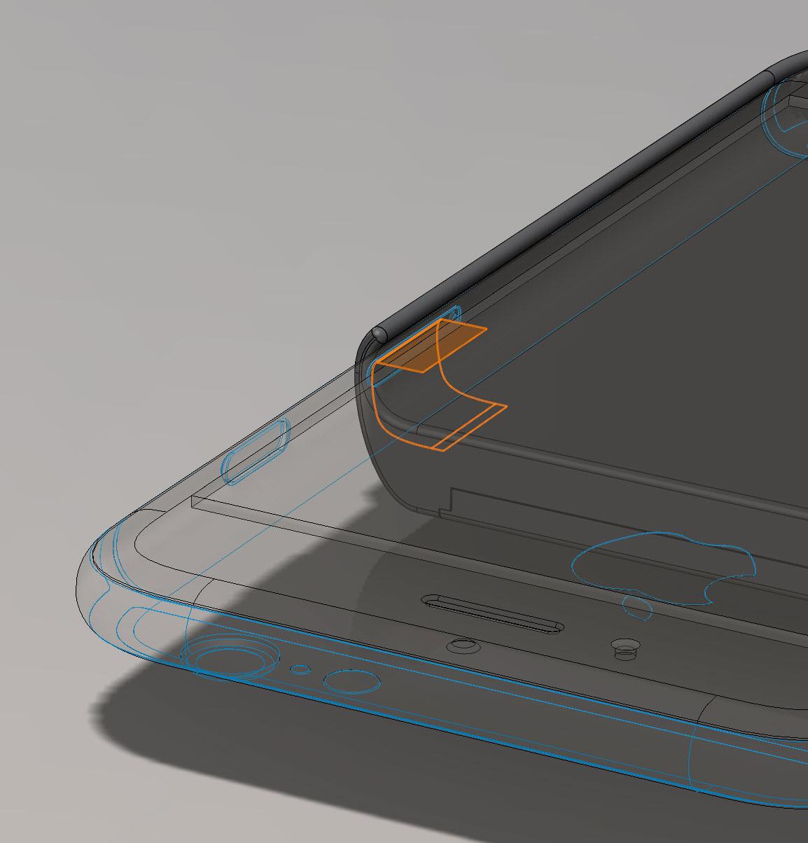 Контакты будут выведены наружу через слот для SIM-карт