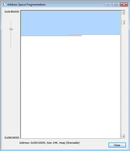 VMMap до выделения памяти для ArrayBuffer