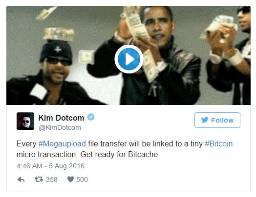 Ким Дотком подтвердил информацию о создании наследника Megaupload с поддержкой Bitcoin