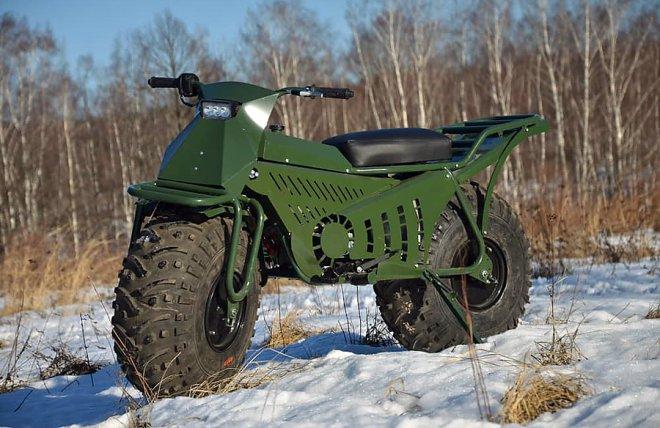 Калужская компания разработала полноприводный мотовездеход «Тарусь»