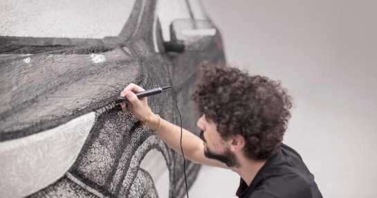 Уникальная 3D-ручка позволит рисовать в воздухе