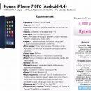 Бюджетный вариант: копия iPhone 7 уже продается в России в 10 раз дешевле оригинала