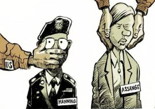 Джулиан Ассанж согласен на американскую тюрьму, если Обама помилует Мэннинга
