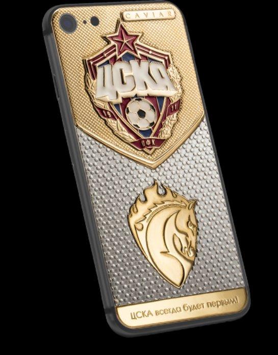 Российскому футболисту подарили эксклюзивный смартфон