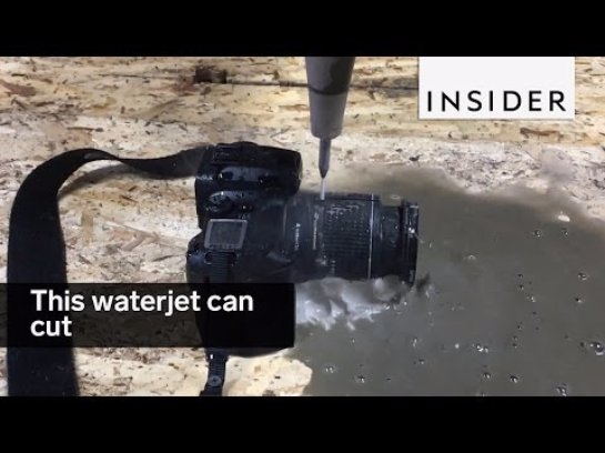 Эксперименты с водой: на что способен водный резак