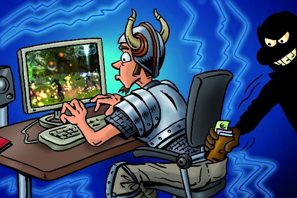 30% поклонников online-игр сталкиваются с мошенничеством