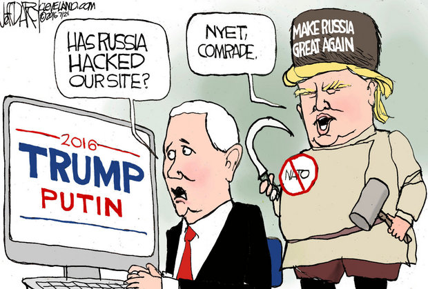 Трамп обещает поделиться информацией о хакерах на этой неделе