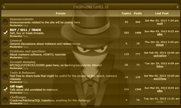 Хакерский форум Darkode стал жертвой взлома