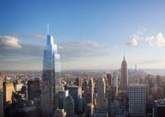 В Нью-Йорке построят второй по высоте небоскрёб в США