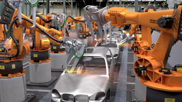 Промышленные роботы угрожают безопасности